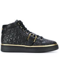 Balmain - Active Quilted Sneakers - Lyst