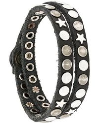 HTC Hollywood Trading Company | Bracciale Con Borchie | Lyst