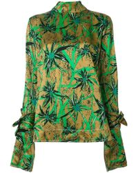 Marni - Floral Print Blouse - Lyst