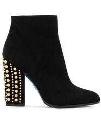 Loriblu - Studded Heel Boots - Lyst