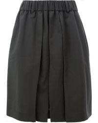 Moohong - Pleated Shorts - Lyst