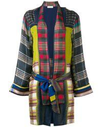 Pierre Louis Mascia - Check Print Jacket - Lyst
