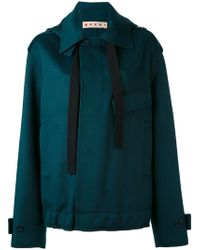 Marni | Oversized Placket Jacket | Lyst