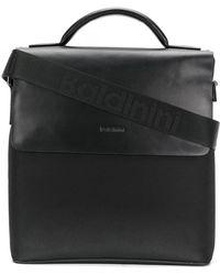 Baldinini Logo Messenger Bag - Black