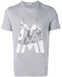 Moncler - Logo T-shirt - Lyst