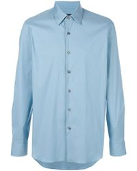 Prada - Classic Collared Shirt - Lyst