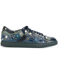 Toga Pulla - Multi Studded Lace-up Sneakers - Lyst