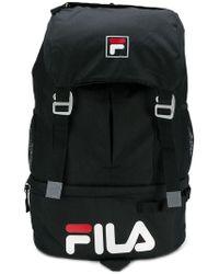 2b3fc690d7 Fila Riley Backpack in Black - Lyst