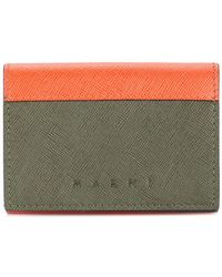 Marni - Snap Button Wallet - Lyst