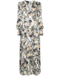 Goen.J - Puff Shoulder Floral Dress - Lyst