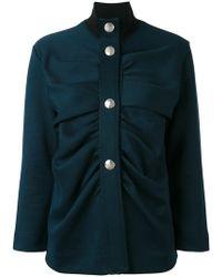 Marni - High Neck Military Style Jacket - Lyst