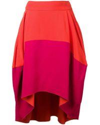 Antonio Berardi - Draped skirt - Lyst