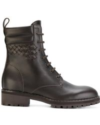 Bottega Veneta - Lace-up Boots - Lyst