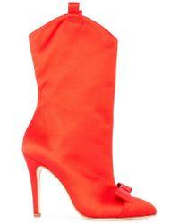 Alessandra Rich - Stivali con tacco a stiletto - Lyst