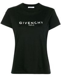Givenchy - Blurred Logo T-shirt - Lyst