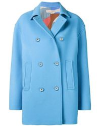Emilio Pucci - Boxy Double Breasted Coat - Lyst