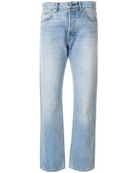 Helmut Lang - Washed Out Mum Jeans - Lyst