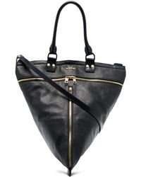 Sacai - Hybrid Trapezoid Shoulder Bag - Lyst