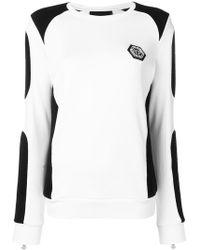 Philipp Plein - Colour Block Sweatshirt - Lyst