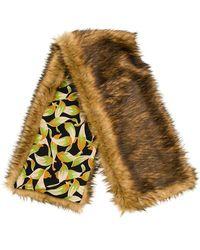 N°21 - Faux Fur Stole - Lyst