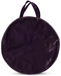 Guidi - Round Shaped Shoulder Bag - Lyst