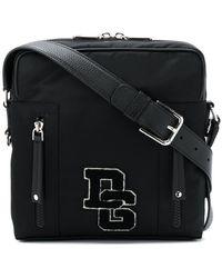 Dolce & Gabbana - Medium Brand Patch Messenger Bag - Lyst