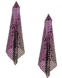 Christopher Kane - Chainmail Earrings - Lyst