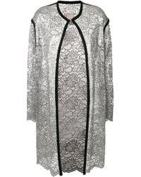 Antonio Marras - Lace-embroidered Cardi-coat - Lyst