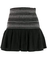 Mes Demoiselles - A-line Embroidered Skirt - Lyst