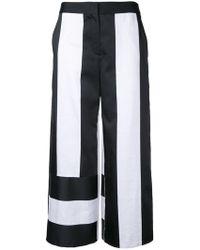 Goen.J - Panel Cropped Trousers - Lyst
