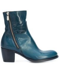 Rocco P - Mid Heel Ankle Boots - Lyst