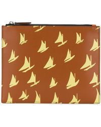 Marni - Boat Print Clutch Bag - Lyst