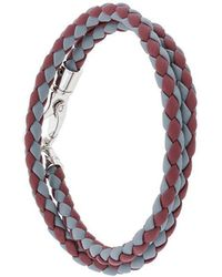 Tod's - Classic Woven Bracelet - Lyst