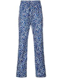 KENZO   Jackie Flowers Relaxed Trousers   Lyst