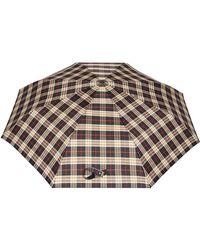 Burberry - Paraguas a cuadros - Lyst
