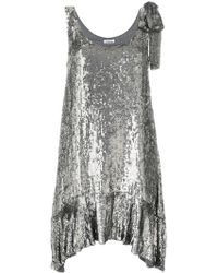 P.A.R.O.S.H. - Sequin Embellished Dress - Lyst