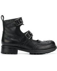 KTZ - Double Straps Boots - Lyst