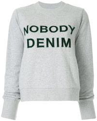 Nobody Denim - Nobody Favourite Sweat Cinder - Lyst