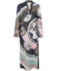 Tory Burch - Constellation Print Dress - Lyst