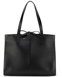 A.P.C. - Large Tote Bag - Lyst
