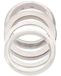 Werkstatt:münchen - Flat Ring - Lyst