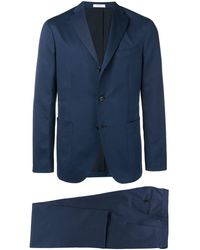 Boglioli Straight Fit Suit