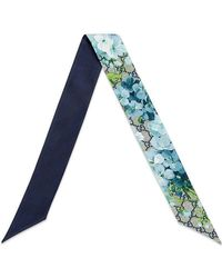 Gucci - GG Blooms Scarf - Lyst