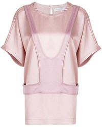 Valentino - Layered Panel Detail Top - Lyst