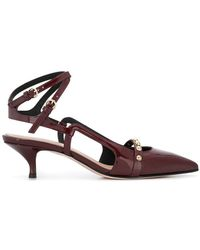RED Valentino - Red(v) Pointed Toe Pumps - Lyst