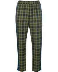 Ultrachic - Star Stripe Tartan Trousers - Lyst