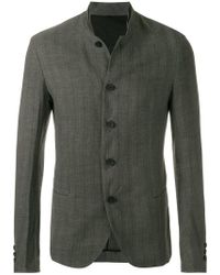 Masnada - Striped Button Jacket - Lyst