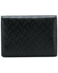 Ferragamo - Gancio Embossed Card Holder - Lyst