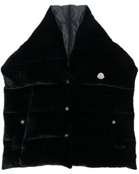 Moncler - Oversized Padded Scarf Gilet - Lyst