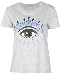 KENZO - Eye Print T-shirt - Lyst